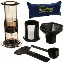 AeroPress Coffee and Espresso Maker with Tote Bag Includes 350 Filters