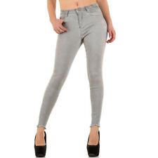 Damen-Bootcut-Jeans mit hoher Bundhöhe (en) High-waist Hosengröße 38