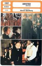 AMISTAD - McConaughey,Hopkins,Spielberg (Fiche Cinéma) 1997