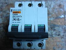 NEW SQD/MERLIN GERIN 24541 480VAC 20A 3P C/B