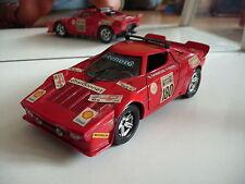Polistil Lancia Stratos in Red on 1:25