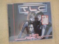 TLC - NO SCRUBS. 4 TRACKS CD SINGLE.