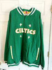 Boston Celtics Coat. Brand New. 3XL 56. Hardwood Classics