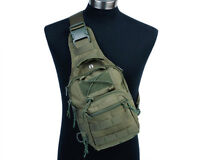 Tactical Military Airsoft Outdoor Hiking 1000D Molle Shoulder Bag Pouch Backpack