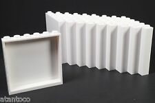 LEGO White Panel 1x6x5 Wall - Brand New (Lot of 10 Pieces)