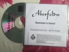 Aberfeldy ‎– Summer's Gone Label: Rough Trade ‎ Records UK Promo CD Single