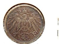 1905-A German Empire One (1) Mark Silver Coin