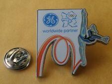LONDON 2012 Olympic GE (General Electric) GYMNASTICS sponsor rare pin