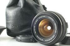 【N.Mint w/Case】 OLYMPUS OM-SYSTEM G.ZUIKO AUTO-W 21mm F/3.5 Lens from Japan #87