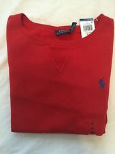 $ 98 NEW  Polo RALPH LAUREN Women's Long sleeves Pullover Sweater Jacket Red-XS