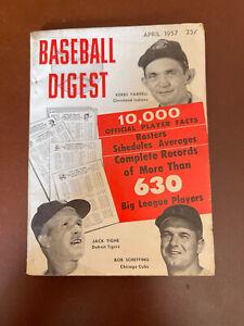 April 1957 Baseball Digest