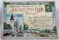 Vintage Post Card Booklet from 1915 of Jascksonville, Florida