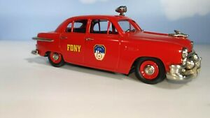 Brooklin 1/43 BRK 51a 1951 Ford Fordor World Trade Center Relief Fund. 1 of 350