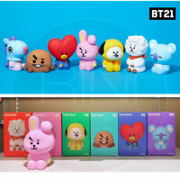 BTS BT21 Official Authentic Goods Figure Coin Bank + Tracking #