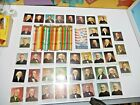 Set of 34 Presidential Pencils and Set of 41 Cards Fair . vintage .