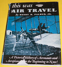 This Was Air Travel 1962 History of Aviation Great Photographs Nice See!