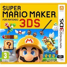 Super Mario Maker Nintendo 3ds Game