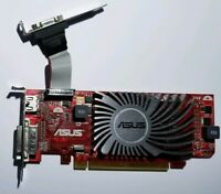 ASUS AMD Radeon HD 5450 EAH5450 SILENT DI 512MD3 HDMI VGA DVI 512MB Video Card