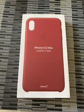 Apple Genuine leather IPhone Case Product Red XS Max
