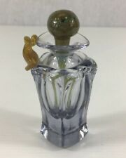 Patrick Stern Art Glass Perfume/Scent Bottle Signed 9.5cm In Height