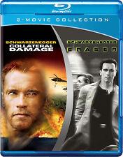Collateral Damage / Eraser   2 Movie Set   New   Sealed   Blu-ray Region free