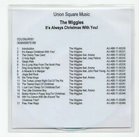 (IV14) The Wiggles, It's Always Christmas With You! - DJ CD