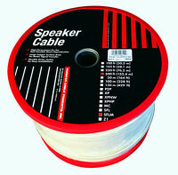 Monster Cable SuperFlat High Performance 16G Speaker Wire 500 FT - Navajo White