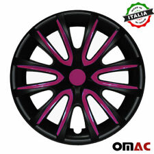 14 Inch Wheel Rim Cover Hubcap Matte Black Violet For Toyota Camry 4pcs Set Fits Camry