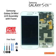 NEW OEM Samsung Galaxy S4 Mini GT-i9195 LCD & Digitiser Assembly w/Frame WHITE
