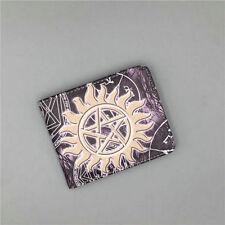 Hot Supernatural Men's Wallet Dollar Price ID Card Money Bag Gift Short wallets