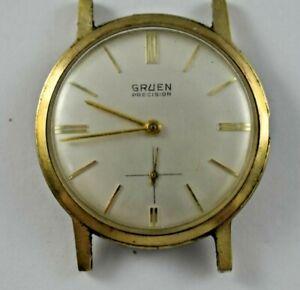 Vintage Gruen Precision Manual Wind 17J N510R Wrist Watch lot.15