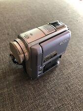 Sony Handycam DCR-PC105E Mini DV Camcorder camera, No Power For PARTS or REPAIR
