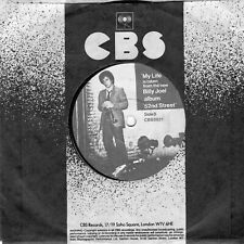 "BILLY JOEL - MY LIFE ( U.K. CBS 6821) PICTURE LABEL ) 7""  1978"