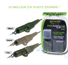 MAXI PACK PLASTIC CLIP FUN FISHING WEED 60 pièces