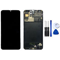 For Samsung Galaxy A30s A307 LCD Display Touch Screen Digitizer Assembly W/Frame