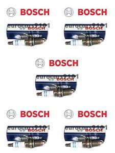 Volkswagen Jetta Bosch Spark Plugs FR7HE02 101905617 Set of 5