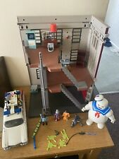playmobil ghostbusters firehouse, Ecto 1 Car And Stay Puft Great Condition