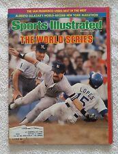 Sports Illustrated November 2, 1981; The World Series, Yankees vs Dodgers -RARE