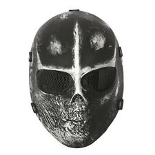 "NEW Skull Full Face Mask SOFTAIR MASCHERA cosplay Film "" i PREDONI "" teschio"