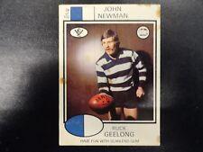 1975 SCANLENS CARD NO.28 JOHN NEWMAN GEELONG