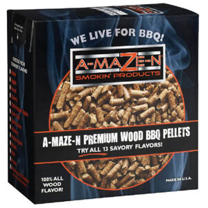 A-Maze-N Smoking Apple Wood Pellets 2 lb Pound Box for Smoking Foods