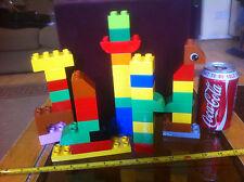 Gran Lote aleatorio ladrillos DUPLO Preescolar Clásico Original Juguete Lego
