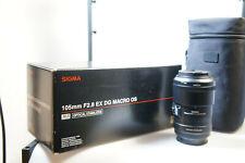 Sigma Macro EX 105 mm 2.8 DG OS für Sony A.  Mount , A 900, A 550, A 58