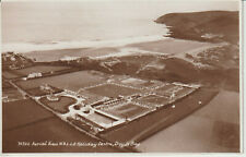 CROUDE BAY - AERIAL VIEW N.A.L.G.O. HOLIDAY CENTRE -REAL PHOTO - POSTCARD #25521