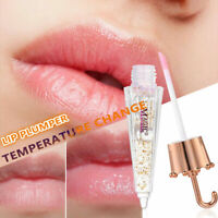 Change Color Lip Plumper Lip Gloss Moisturizer Glitter Liquid Lipstick Makeup