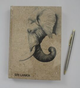 Elephant Dung Note Book Plain Ceylon Eco Friendly and Save the Planet 50 pages L