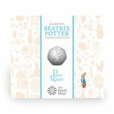 50p Beatrix Potter Peter Rabbit Fifty Pence Coin 2017 Sealed Uncirculated