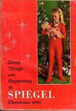 1970 Spiegel Christmas Catalog - 129 pages of just toys; Mod clothes; robots