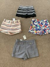 New Girls Shorts Age 9-10 M&S Next X4