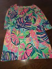 NWOT Lilly Pulitzer SOPHIE UPF 50+ Multi EXOTIC GARDEN Dress XL $138